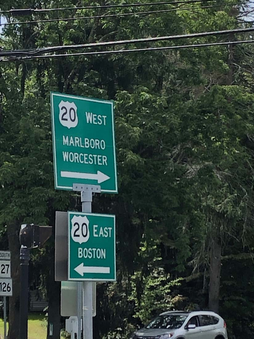 DDN Boston sign